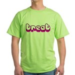 Retro Treat Green T-Shirt