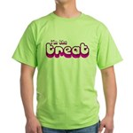 Retro I'm the Treat Green T-Shirt