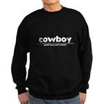 generic cowboy costume Dark Sweatshirt (dark)