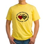 US Army - I love a man that.. Yellow T-Shirt
