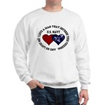 US Navy I love a man... Sweatshirt