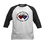 US Navy I love a man... Kids Baseball Jersey