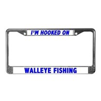 Walleye License Plate Frames