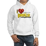 I Heart Peta Murgatroyd Hooded Sweatshirt