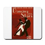 Retro Inspired DWTS Poster Mousepad