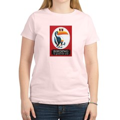 Birding Is Good For You Women's Light T-Shirt