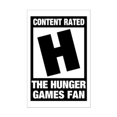 Content Rated The Hunger Games Fan T-Shirts Gifts Mini Poster Print