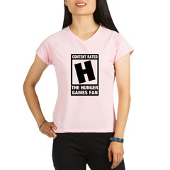 Content Rated The Hunger Games Fan T-Shirts Gifts Performance Dry T-Shirt