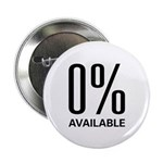 """0% Available 2.25"""" Button (10 pack)"""