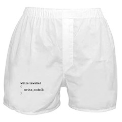 write_code() Boxer Shorts