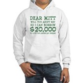 Mitt Will You Adopt Me? Hooded Sweatshirt