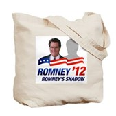 Anti-Romney Shadow Tote Bag