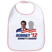 Anti-Romney Shadow Bib