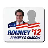 Anti-Romney Shadow Mousepad