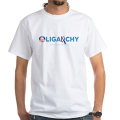Oligarchy 2012 White T-Shirt