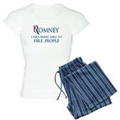 Anti-Romney: Fire People Women's Light Pajamas