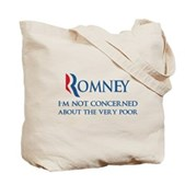 Anti-Romney: Very Poor Tote Bag