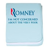 Anti-Romney: Very Poor baby blanket