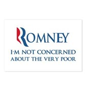 Anti-Romney: Very Poor Postcards (Package of 8)