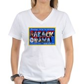Greetings from the President Women's V-Neck T-Shir