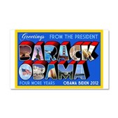Greetings from the President Car Magnet 20 x 12