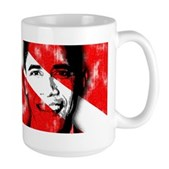 Divers for Obama Large Mug