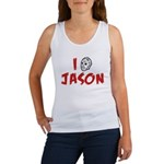 I Love Jason Women's Tank Top