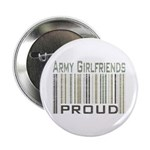 Military Army Girlfriends Proud Button