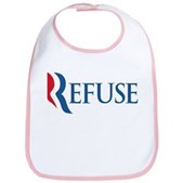 Anti-Romney Refuse Bib