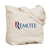 Anti-Romney Remote Tote Bag