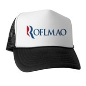 Anti-Romney ROFLMAO Trucker Hat