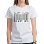 Military Army Moms Proud Women's T-Shirt