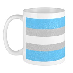Distressed Transgender Pride Mug