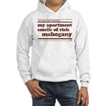 Mahogany Hooded Sweatshirt