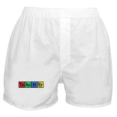 Teacher made of Elements colors Boxer Shorts