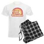 Gay for Obama Men's Light Pajamas