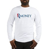 Anti-Romney RMONEY Long Sleeve T-Shirt