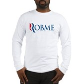 Anti-Romney Robme Long Sleeve T-Shirt