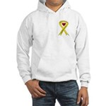 Yellow Ribbon Proud of my Son Hooded Sweatshirt