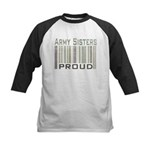 Military Army Sisters Proud Kids Baseball Jersey