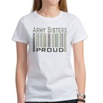 Military Army Sisters Proud Women's T-Shirt