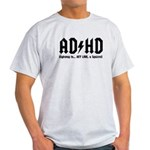 AD/HD Look a Squirrel Light T-Shirt