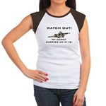 My Daddy carries an M-16 Women's Cap Sleeve T-Shir