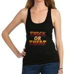 Trick or Treat Racerback Tank Top