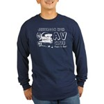 AV Club - Keepin It Reel! Long Sleeve Dark T-Shirt