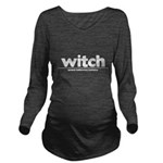 Generic witch Costume Long Sleeve Maternity T-Shirt