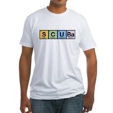 Elements of Scuba Fitted T-Shirt