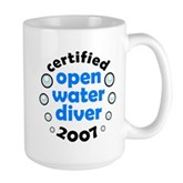 Open Water Diver 2007 Large Mug