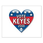 Vote Alan Keyes 2008 Political Small Poster