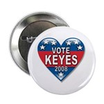 "Vote Alan Keyes 2008 Political 2.25"" Button (100 p"